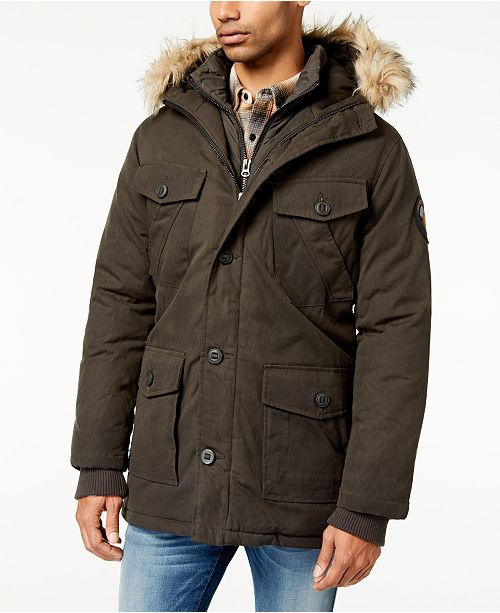 Superdry Men's Everest Dual-Layer Waxed Parka & Reviews