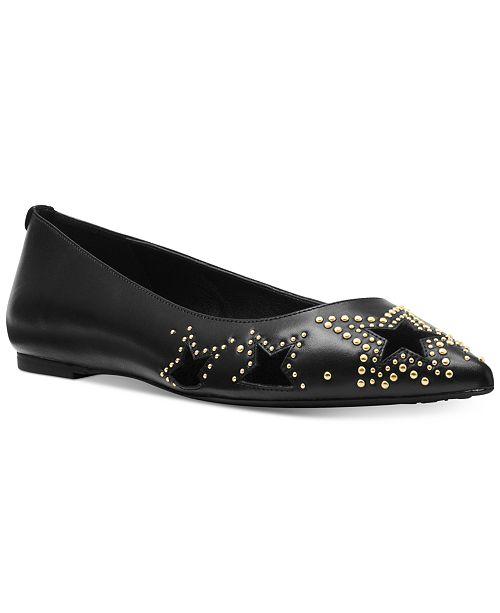f7a2124ef279 Michael Kors Sia Flats   Reviews - Flats - Shoes - Macy s