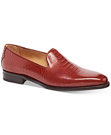 Men's California Ostrich-Embossed Loafers