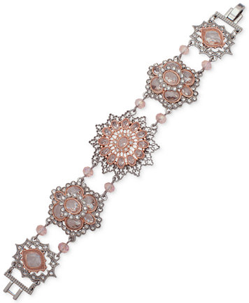 Image 1 of lonna & lilly Two-Tone Crystal Link Bracelet