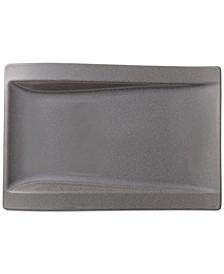 New Wave Stone Large Rectangular Buffet Plate