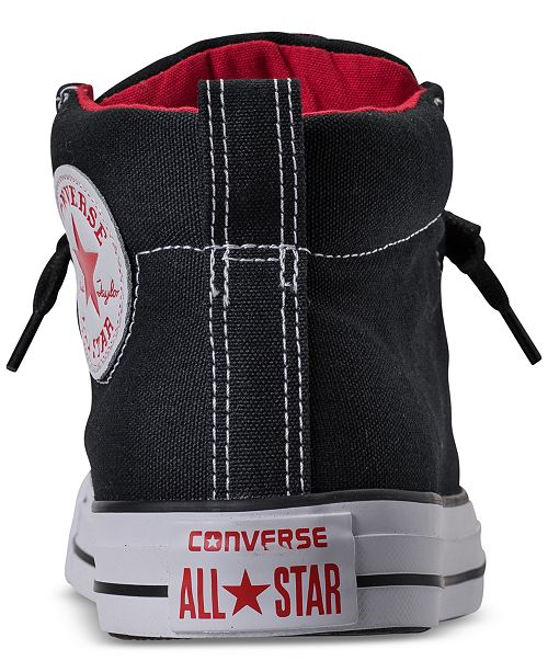 fdc1a72f2a85 ... Converse Men s Chuck Taylor All Star Street Mid Casual Sneakers from  Finish ...