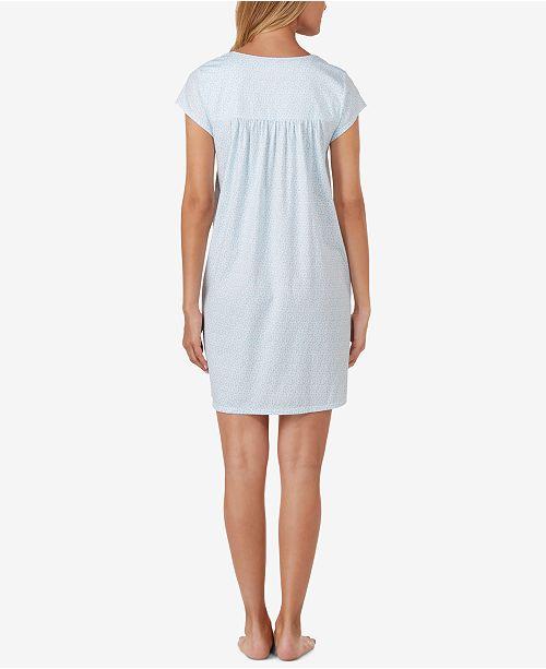 767b9eba43 Eileen West Cotton Button-Front Nightgown - Bras