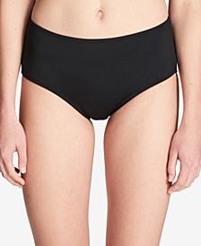 Mid-Rise Tummy-Control Bikini Bottoms