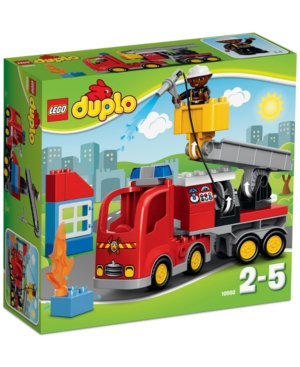 Lego Duplo 26Pc Town Fire Truck 10592