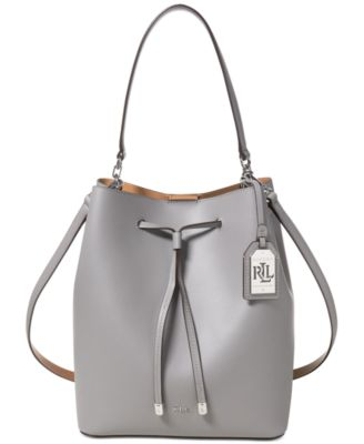 ... official photos fc1a9 72358 Lauren ralph lauren debby leather  drawstring bag handbags tif 500x613 Lauren by ... 9a543f10e50c1