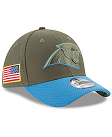 New Era Carolina Panthers Salute To Service 39THIRTY Cap