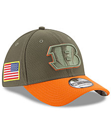 New Era Cincinnati Bengals Salute To Service 39THIRTY Cap