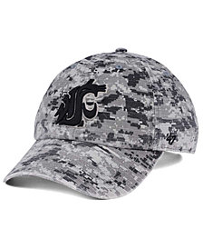'47 Brand Washington State Cougars Operation Hat Trick Camo Nilan Cap