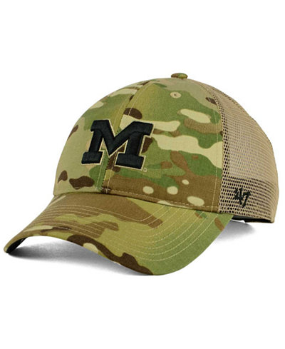 '47 Brand Michigan Wolverines Operation Hat Trick Thompson Cap