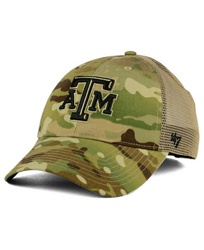 '47 Brand Texas A&M Aggies Operation Hat Trick Thompson Cap