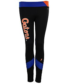 NUYU Women's Florida Gators Mesh Yoga Leggings