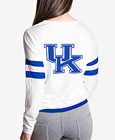NUYU Women's Kentucky Wildcats Long Sleeve Crew Sweatshirt