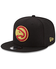 New Era Atlanta Hawks Gold on Team 9FIFTY Snapback Cap
