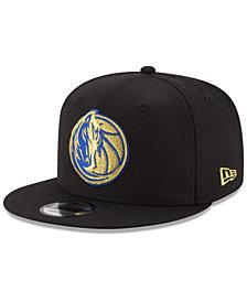 New Era Dallas Mavericks Gold on Team 9FIFTY Snapback Cap