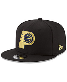 New Era Indiana Pacers Gold on Team 9FIFTY Snapback Cap