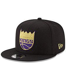 New Era Sacramento Kings Gold on Team 9FIFTY Snapback Cap