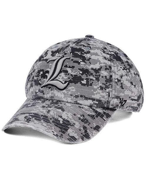 '47 Brand Louisville Cardinals Operation Hat Trick Camo Nilan Cap