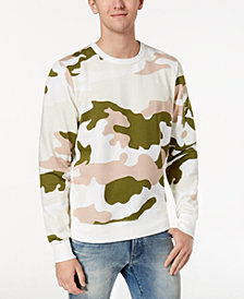 G-Star RAW Men's Camouflage-Print Sweatshirt
