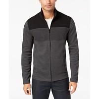 Macys deals on Alfani Mens Colorblocked Full-Zip Jacket