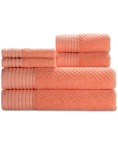 Caro Home Beacon Cotton 6 Pc  Textured Towel Set. bath towel sets   Shop for and Buy bath towel sets Online   Macy s