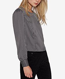 Avec Les Filles Menswear Striped Blouse