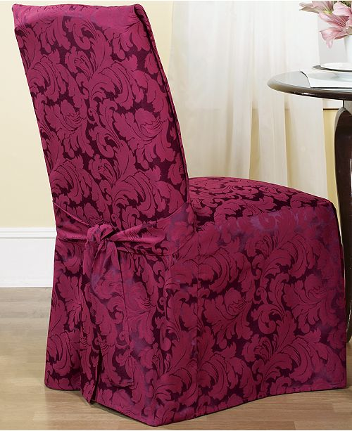 Swell Scroll Dining Room Chair Slipcover Uwap Interior Chair Design Uwaporg