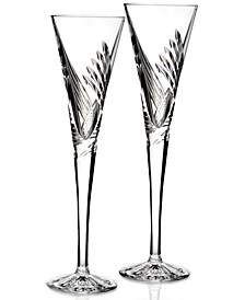 Stemware, Beginnings Toasting Flutes, Set of 2