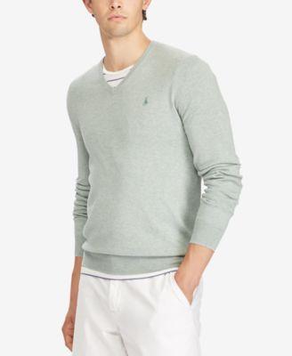 Polo Ralph Lauren NEW Green Mens Size 2XL Herringbone Crewneck Sweater