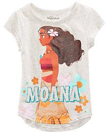 Disney Moana T-Shirt, Little Girls