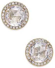 kate spade new york Pavé & Stone Stud Earrings