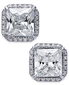 kate spade new york Crystal Square Stud Earrings