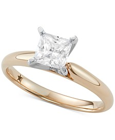 Princess Cut Solitaire Engagement Ring (1 ct. t.w.) in 14k Gold or White Gold
