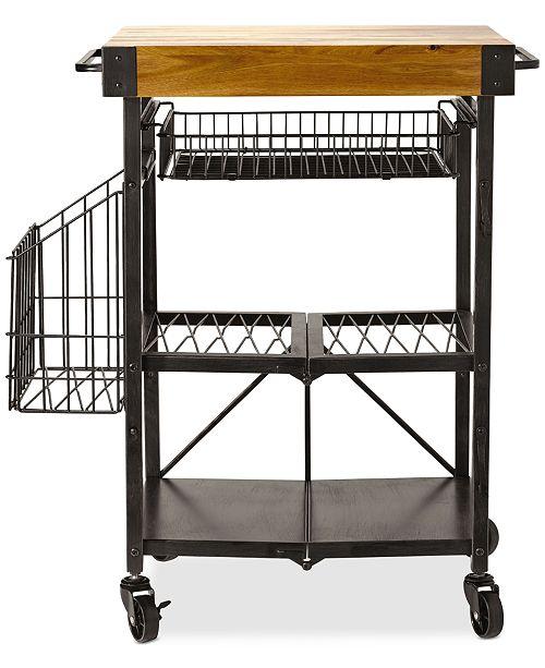 Mikasa Gourmet Basics By Artesa Folding Kitchen Cart ...