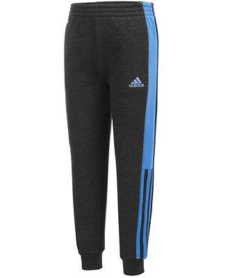 adidas Athletic Jogger Pants, Toddler Boys