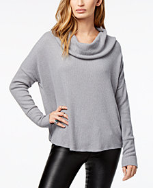 Lucky Brand Sweater with Back Tulip Hem