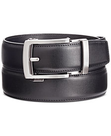 Kenneth Cole Reaction Men's Exact Fit Harness Dress Buckle Belt