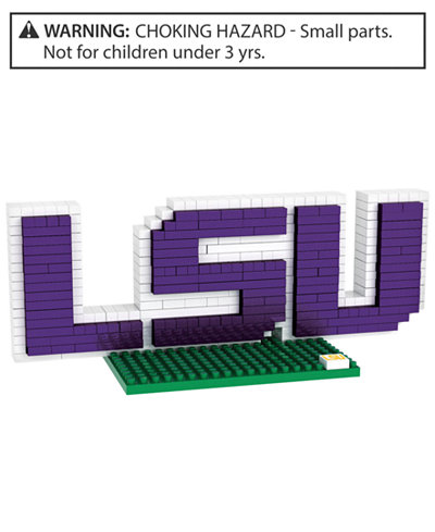 Forever Collectibles LSU Tigers BRXLZ 3D Logo Puzzle