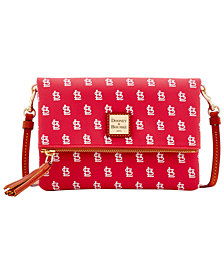 Dooney & Bourke St. Louis Cardinals Foldover Crossbody Purse