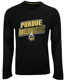 Champion Men's Purdue Boilermakers Practice Squad Long Sleeve T-Shirt