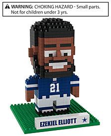 Forever Collectibles Ezekiel Elliott Dallas Cowboys BRXLZ 3D Player Puzzle