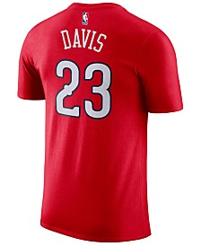 Nike Men's Anthony Davis New Orleans Pelicans Name & Number Player T-Shirt