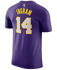 Nike Men's Brandon Ingram Los Angeles Lakers Name & Number Player T-Shirt