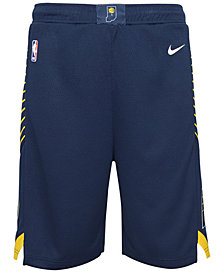 Nike Indiana Pacers Icon Swingman Shorts, Big Boys (8-20)
