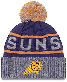 New Era Phoenix Suns Court Force Pom Knit Hat