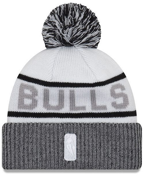 timeless design d906c fd350 ... official store new era chicago bulls court force pom knit hat sports  fan shop by 329ac