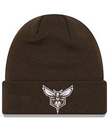 New Era Charlotte Hornets Fall Time Cuff Knit Hat
