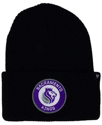 '47 Brand Sacramento Kings Ice Block Cuff Knit Hat