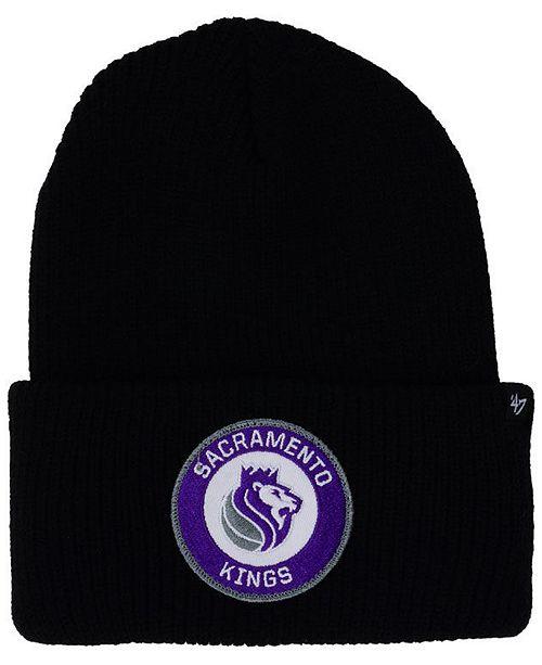 Sacramento Kings Ice Block Cuff Knit Hat