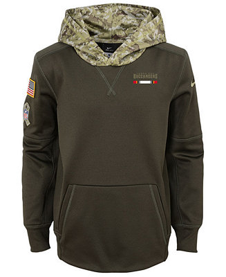 a7bd30907 Nike Tampa Bay Buccaneers Salute To Service Therma Hoodie